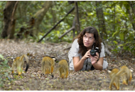 Lara and Squirrel Monkeys