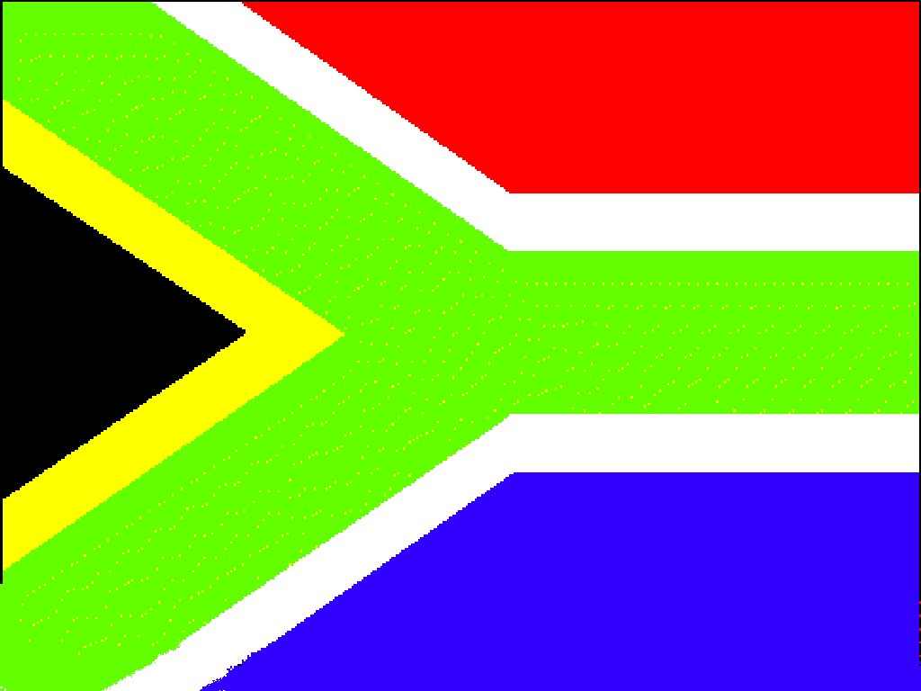 about the flag of south africa monkeyland primate sanctuary